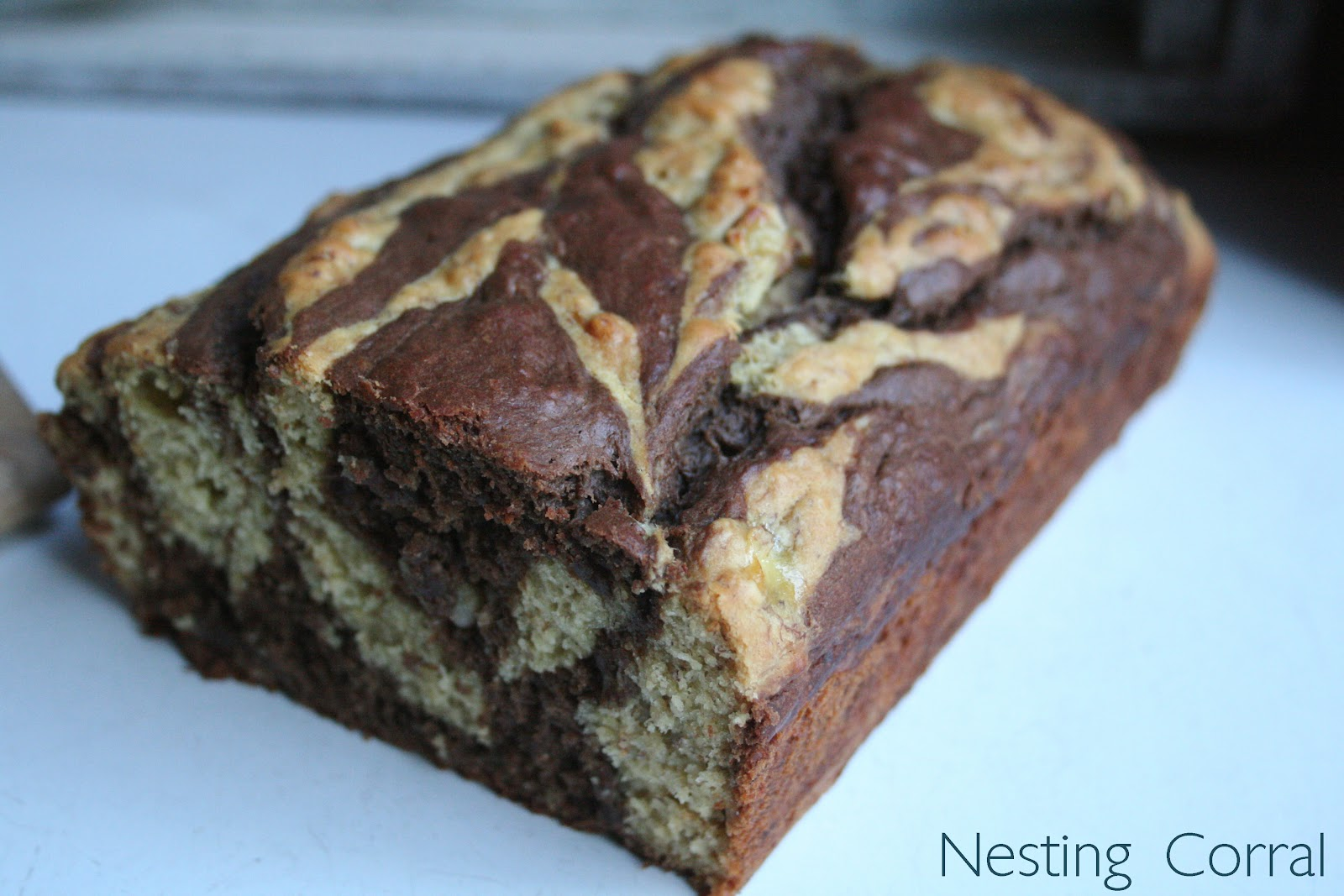 Chocolate Banana Marble Bread Recipe — Dishmaps
