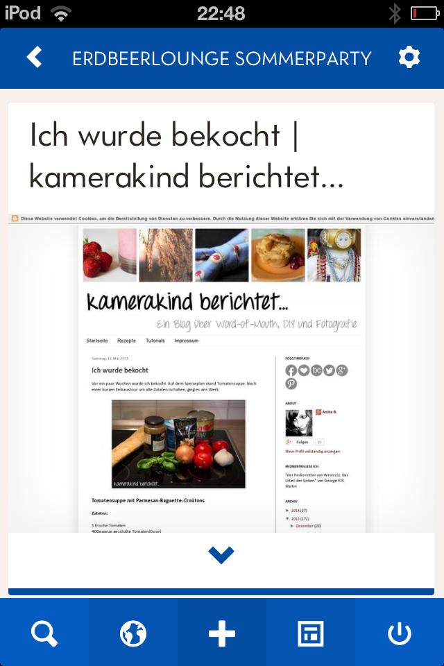 App-Test von Cookin