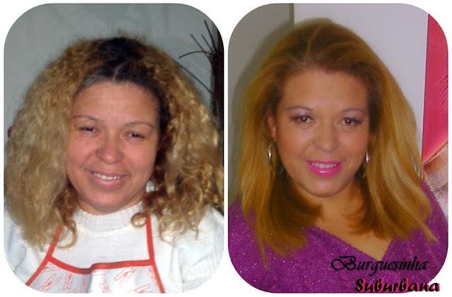 Mari Ribeiro Antes e Depois