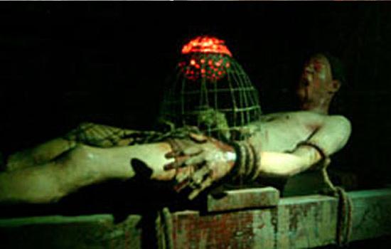 Torturas Medievais - Gaiola de ratos