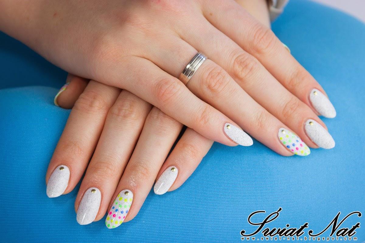 mani manicure nail nails nailart kropki