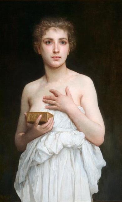 pandora,Bouguereau,5 stars