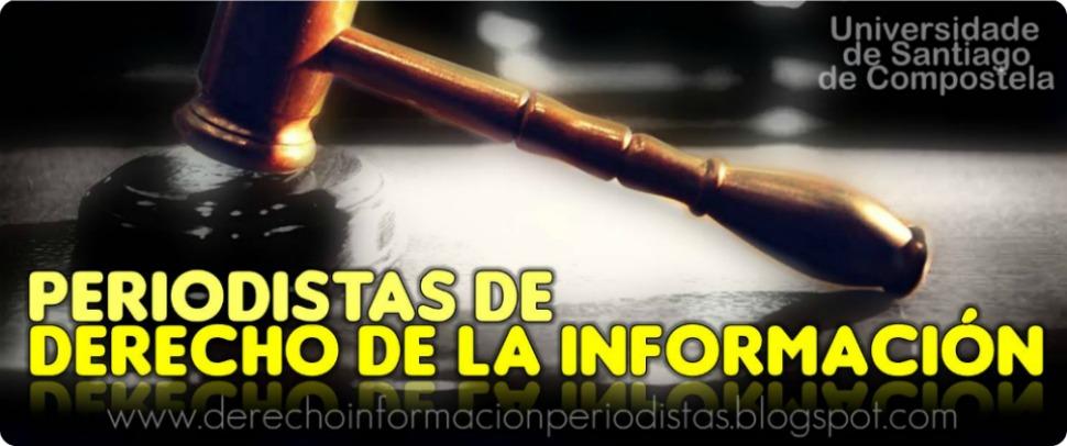 Periodistas de Derecho de la información