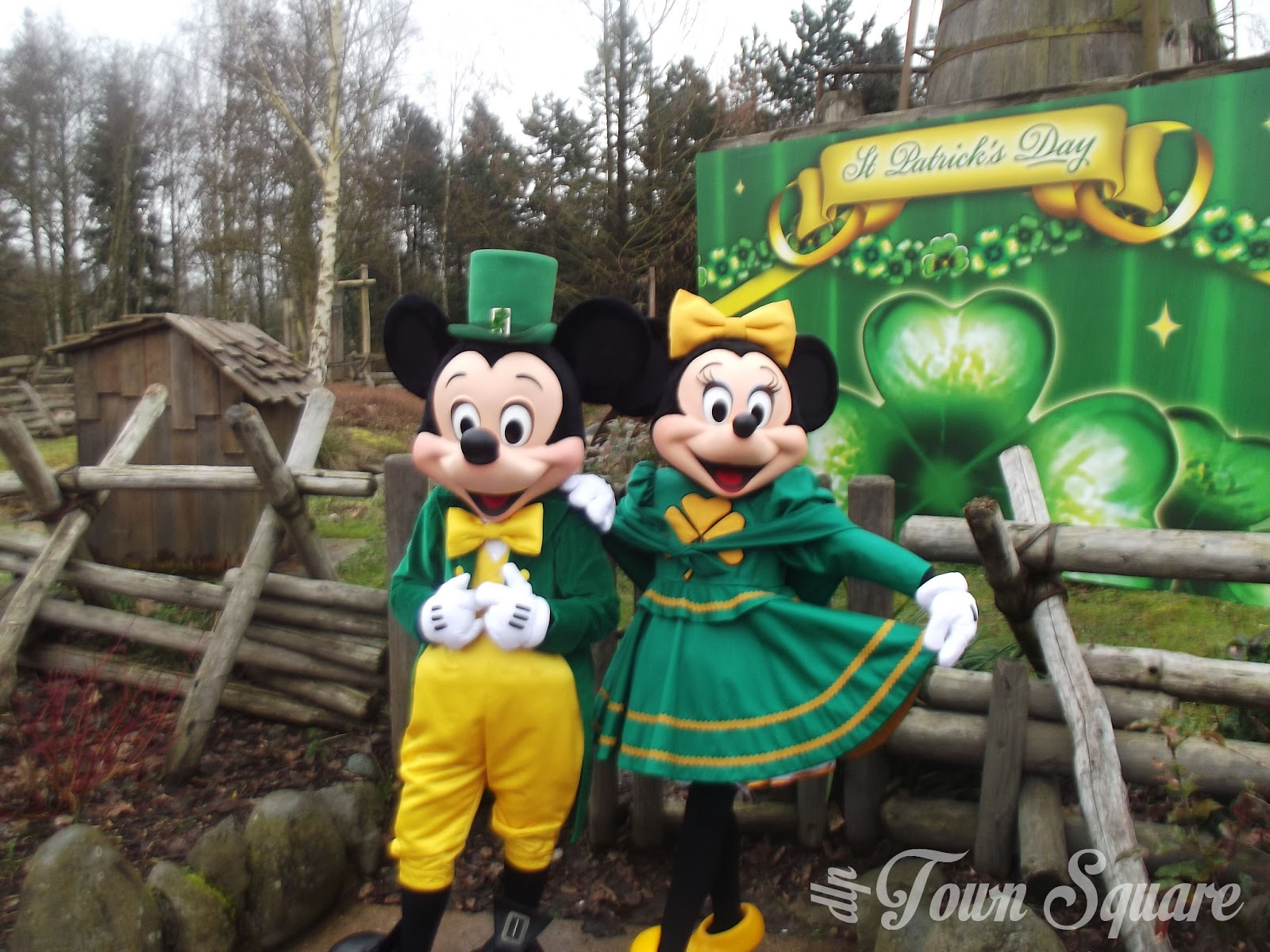 Mickey and Minnie irish