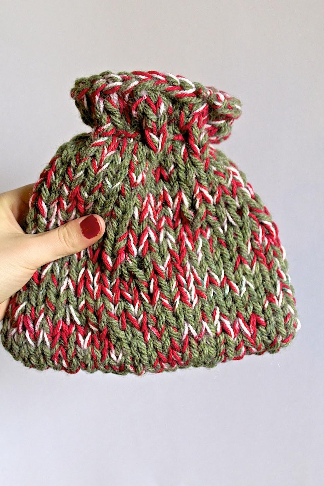 Lexalex drawstring christmas bag