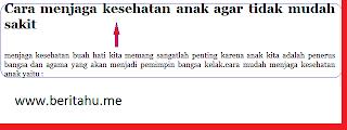 cara meningkatkan page view dengan membuat judul yang sangat menarik visitor