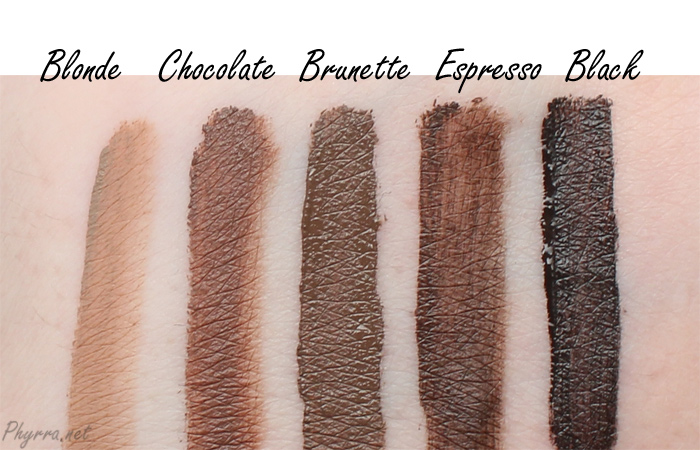 Review Nyx Eyebrow Gel 02 Chocolate Be A Masterpiece