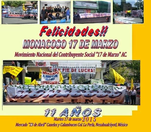 XI ANIVERSARIO DEL MOVIMIENTO 17 DE MARZO