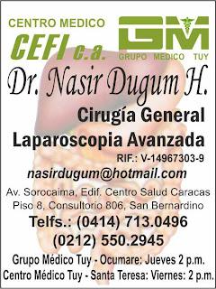 DR NASIR DUGUM H. en Paginas Amarillas tu guia Comercial