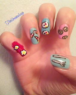 mixed_food_nail_art