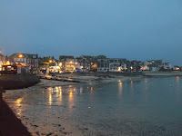 St Ives Cornwall - Christmas Lights