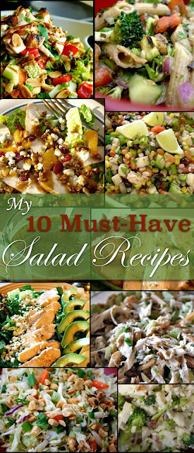 My 10 favorite salads