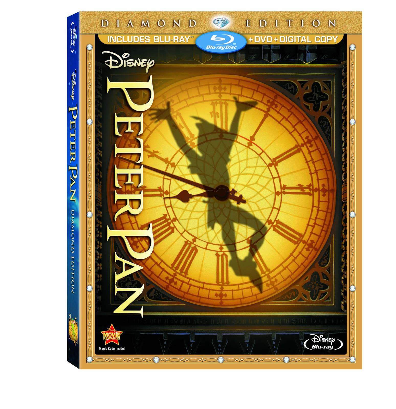 Edition Diamond: Disney Diamond Edition Peter Pan On Blu-ray TODAY