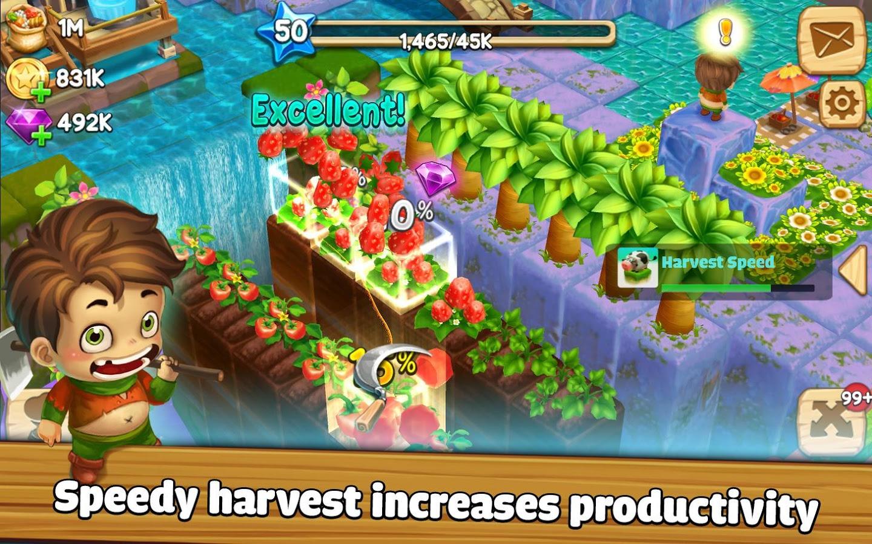 grean farm mod apk