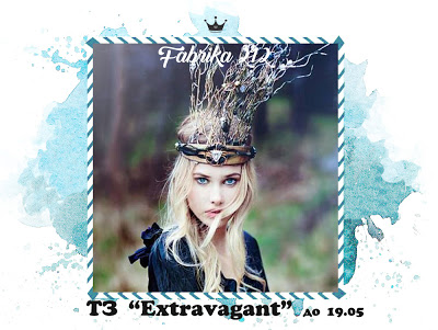 """Тематическое задания """"Extravagant"""" до 19/05"""