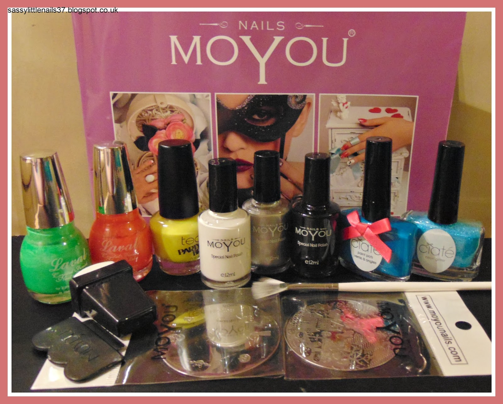 SassyLittleNails: Moyou Nails products review Halloween Nails