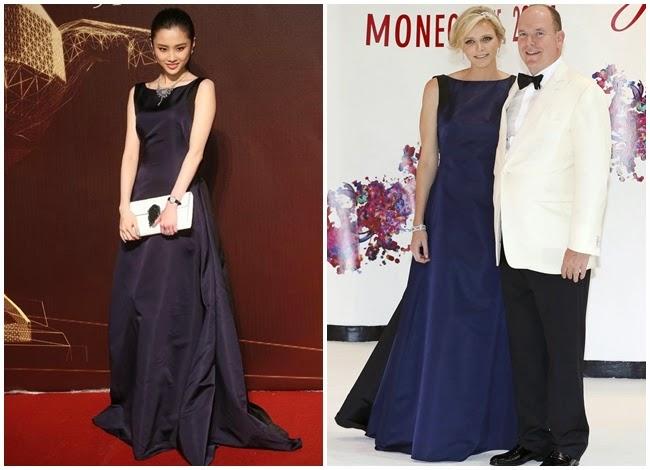 2014 金馬51 張慧雯 Dior禮服撞衫摩納哥公主