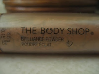The Body Shop Brilliance Powder Shimmer Bronze