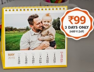 Zoomin Desktop Calendar at Rs. 148 [Mobile App Users] :- BuyToEarn