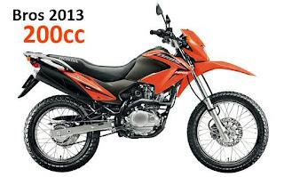 Bros 2013 200 cilindradas