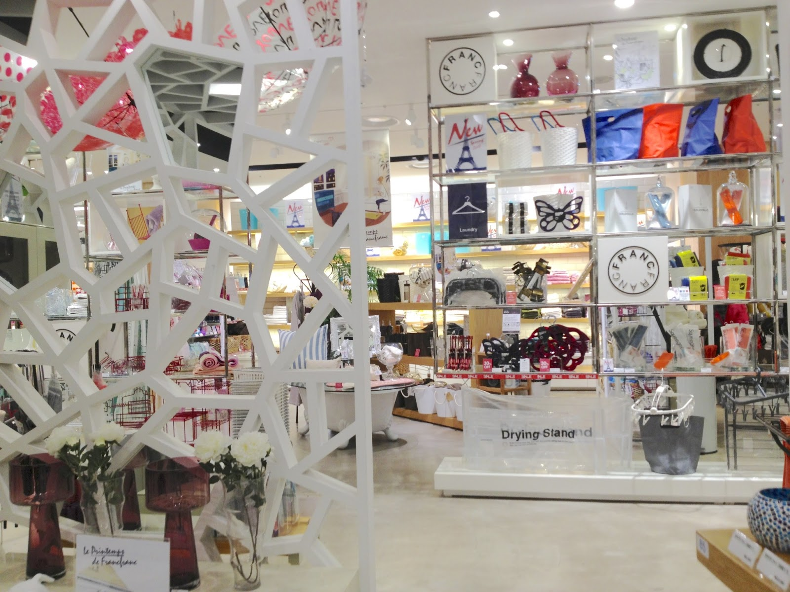 The Lovely Nest: Franc Franc, Home Decor Shop in Seoul