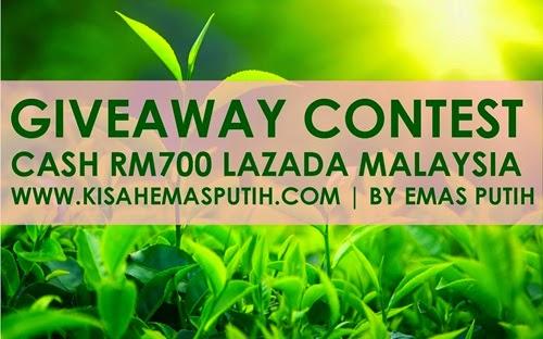 Giveaway Contest RM700 Jualan Hebat Lazada Malaysia 11/11 by Emas Putih, diskaun lazada