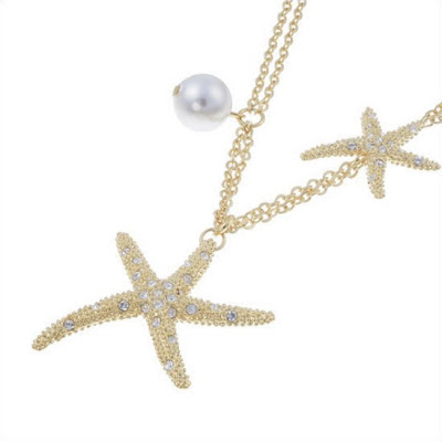 star-fish pendant, summer jewelry