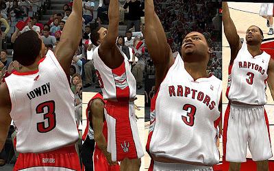 NBA 2K13 Toronto Raptors Home Jersey Patch