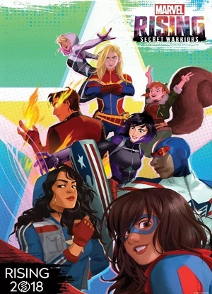 Marvel Rising - Guerreiros Secretos - Legendado 2018 Download torrent download capa