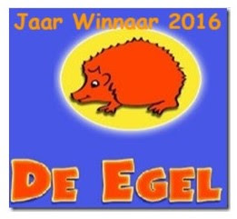 De Egel - jaar winnaar 2016