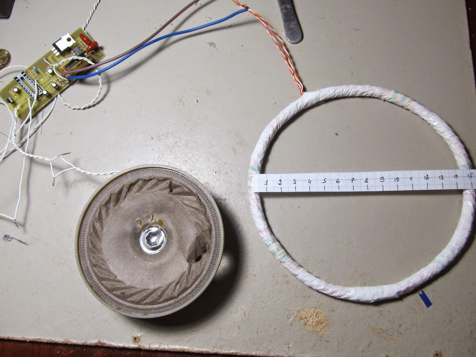 Корзиночная катушка для металлоискателя своими руками