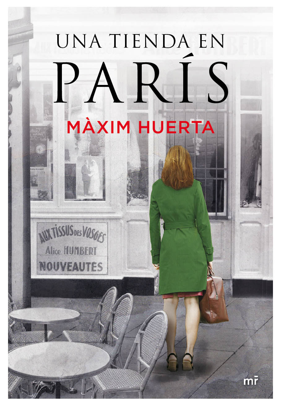 Una tienda en París. Màxim Huerta