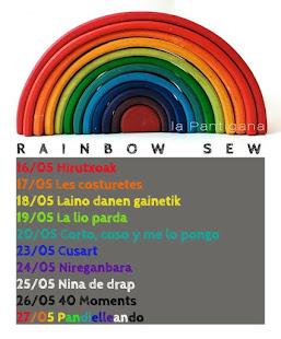 Rainbow sew
