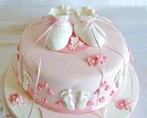 Décoration gâteau anniversaire bébé
