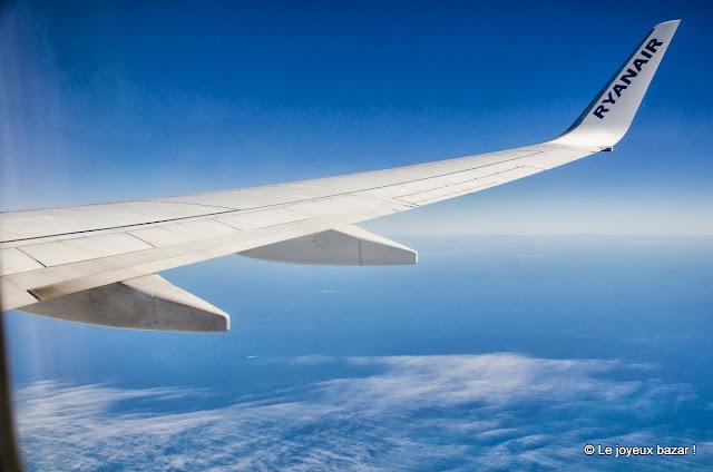 Ciel vu de l'avion