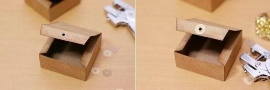 маленькая коробочка своими руками