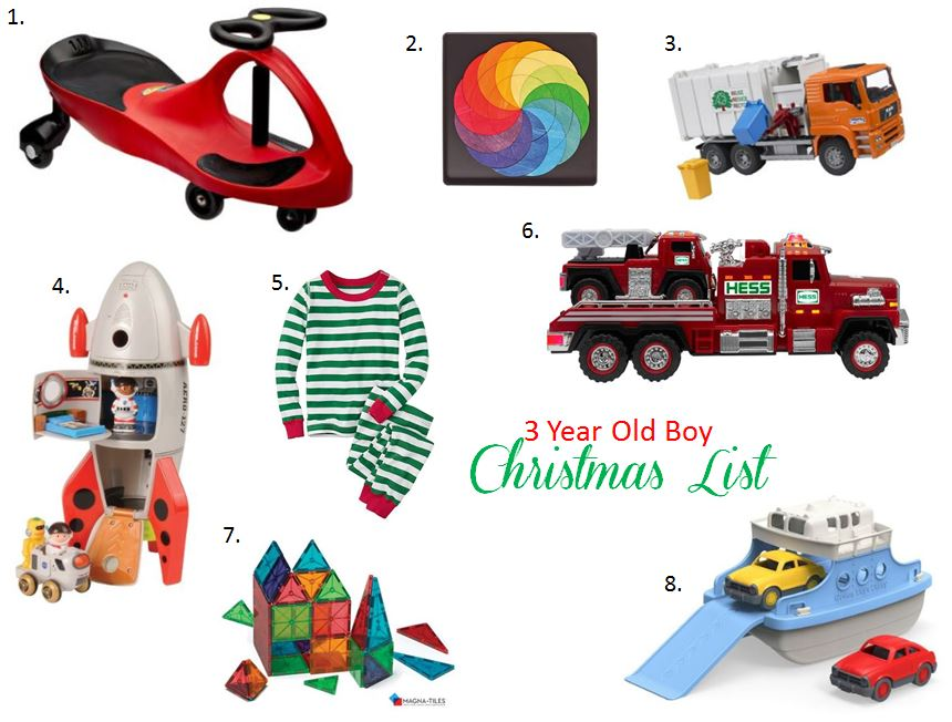 team vaughn: Christmas Wish List for a 3 Year Old Boy