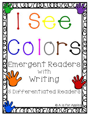 Differentiated Emergent Readers for Colors