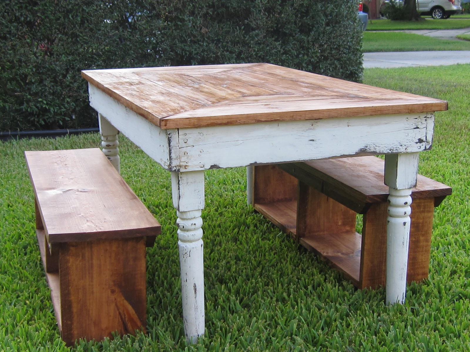 Remarkable Farm Table with Bench 1600 x 1200 · 403 kB · jpeg
