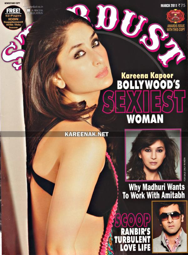 Hottest Kareena Kapoor Stardust Scans March 2011