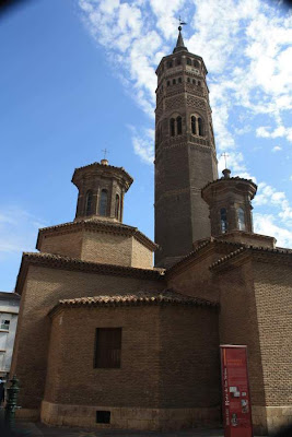 Mudéjar church of San Pablo in Zaragoza