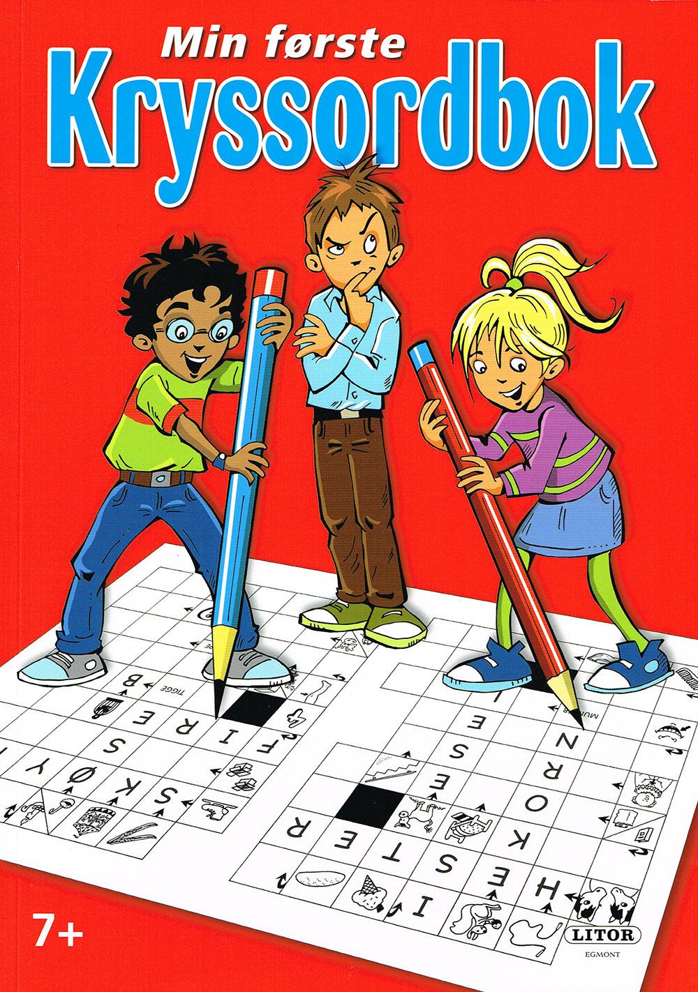 Lette bildekryssord, illustrasjon barn