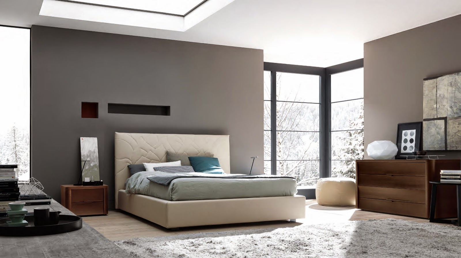 The simplicity connected with modern bedroom furniture for M s bedroom furniture