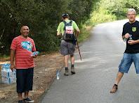 Avituallament d'aigua a la Caseta de la Urbanització dels Refugis del Montseny