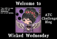 Wicked Wednesday ATC Challenge
