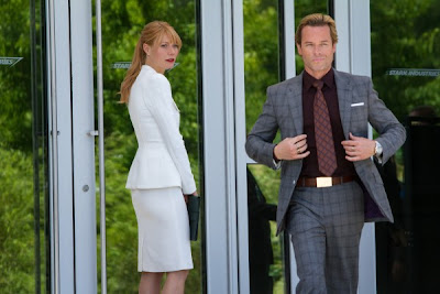 Gwyneth Paltrow and Guy Pearce in Iron Man 3