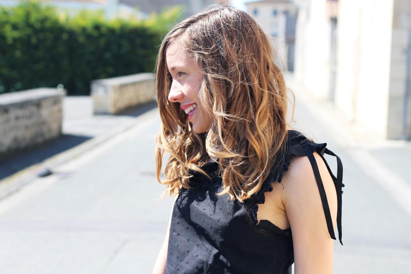 Soleil d'avril robe noire