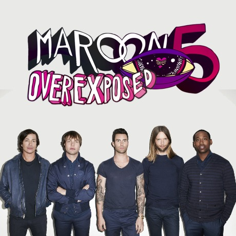 V Album Cover Maroon 5 Maroon 5 She Will Be Loved Album Cover The accompanying artwork is a