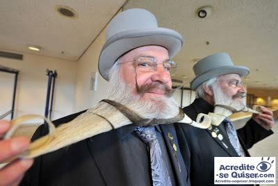 Alemães se reúnem em campeonato de barba