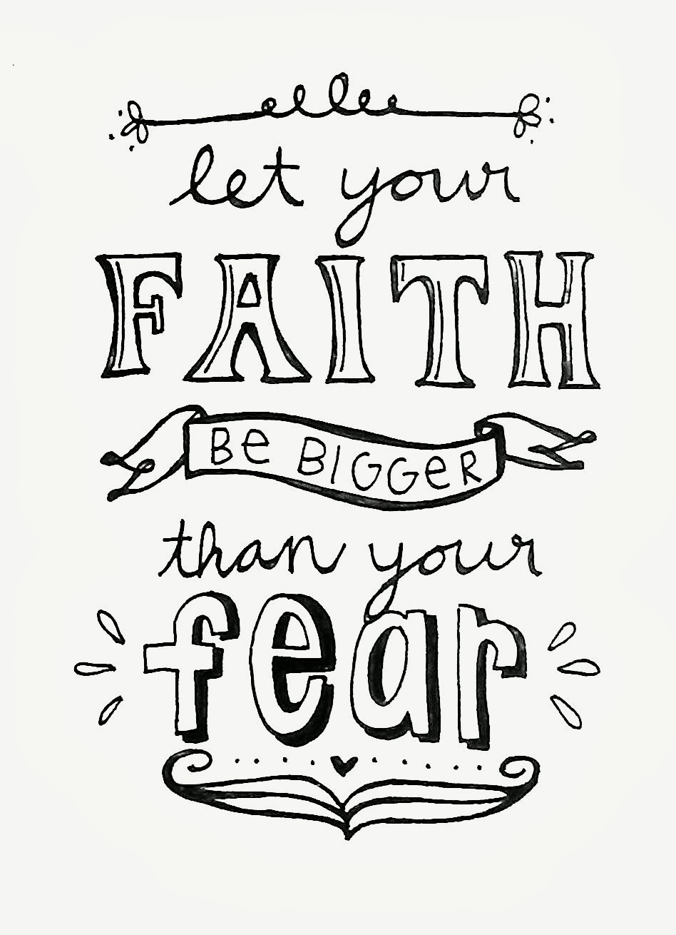 Free Coloring Pages Of Faith